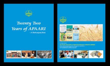 Twenty Two Years of APAARI – a Retrospective