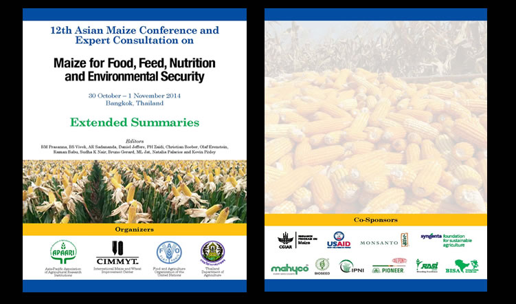 12th Asian Maize Conference 'Maize for Food, Feed, Nutrition and Environmental Security', 30 October-1 November 2014 – Extended Summary