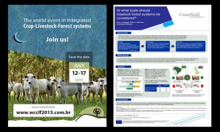 World Congress on Integrated Crop-Livestock-Forest Systems on 12-17 July 2015 at in Brasilia, Brazil