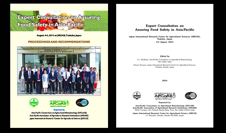 Expert Consultation on Assuring Food Safety in Asia-Pacific, 4-5 August 2014 – Proceedings