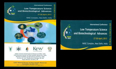 International Conference on Low Temperature Science and Biotechnological Advances, 27-30th April 2015, New Delhi, India
