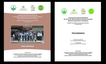 Capacity Development Workshop On Planning, Monitoring and Evaluation towards Measuring Outcomes and Impacts, 3-7 August 2015 – Proceedings