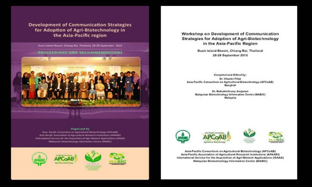 Workshop on Development of Communication Strategies for Adoption of Agri-Biotechnology in the Asia-Pacific Region, 28-29 September 2015 – Proceedings