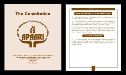 APAARI Constitution – March 2017