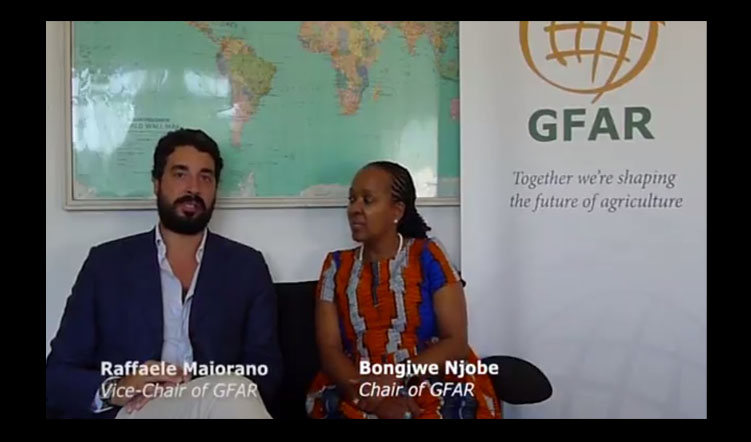An Introductory Message from GFAR Chair Bongiwe Njobe