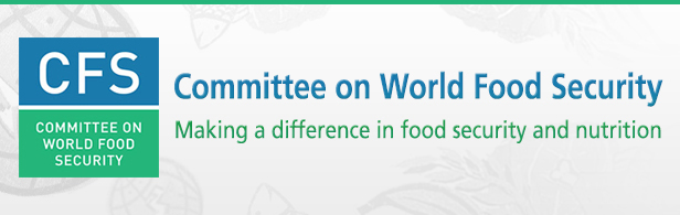 The Committee on World Food Security, CFS 44: 9-13 October 2017, FAO, Rome, Italy