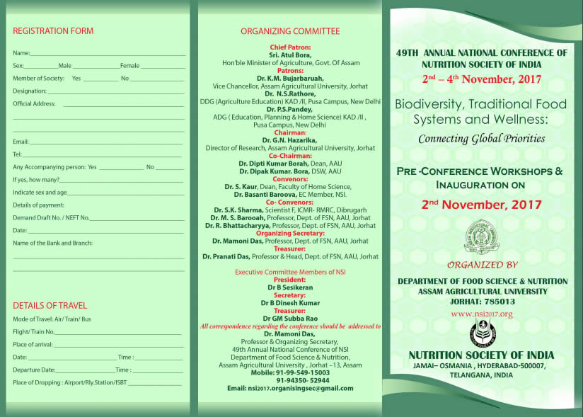 National Conference of Nutrition Society of India