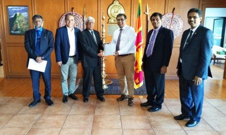 APAARI Meeting with High Level Delegation of  Sri Lanka in Embassy of Sri Lanka at Bangkok