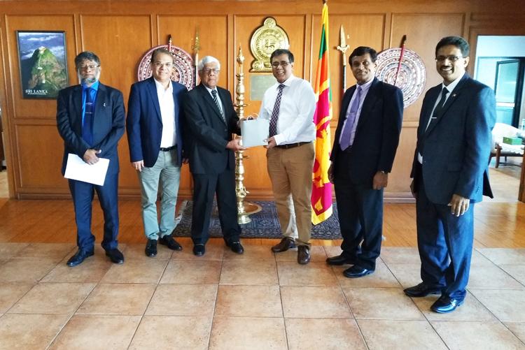 APAARI Meeting with High Level Delegation of  Sri Lanka in Embassy of Sri Lanka at Bangkok