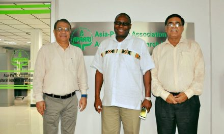 Executive Director, Forum for Agricultural Research in Africa (FARA), Ghana,  visited APAARI