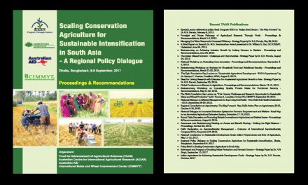 Scaling Conservation Agriculture for Sustainable Intensification in South Asia – Proceedings and Recommendations