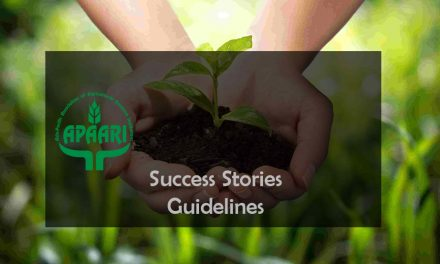 Guidelines for Documenting Success Story for APAARI