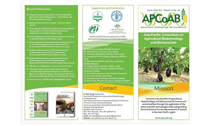 Latest APCoAB Brochure