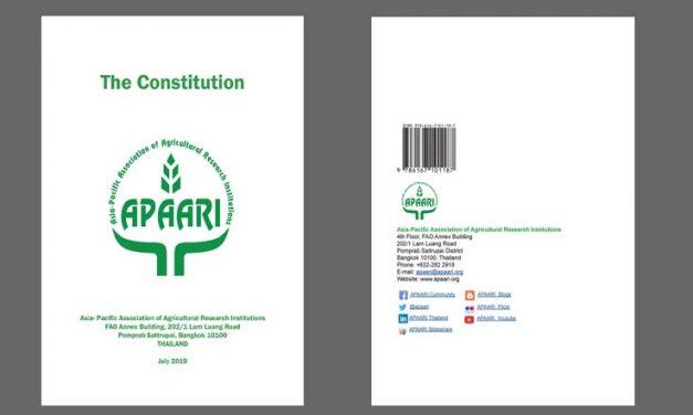 APAARI Constitution Seventh Edition – July 2019