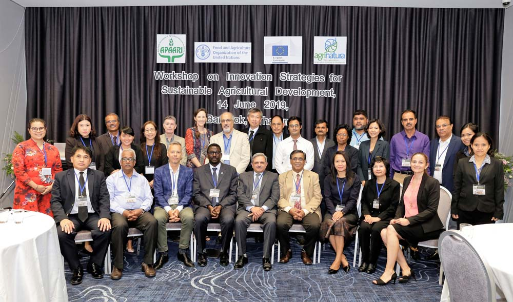 Strategies for improving Agricultural Innovation System (AIS) discussed with APAARI members and partners