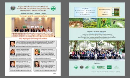 Regional Conference on Role of Soil and Plant Health Towards Achieving Sustainable Development Goals in Asia-Pacific – Summaries & Recommendations