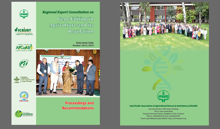 Regional Expert Consultation on Gene Editing in Agriculture and its Regulations – Proceedings and Recommendations