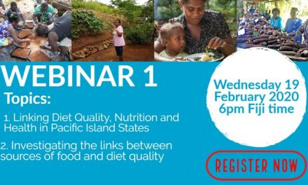 Webinars on Pacific Community Food Production Initiatives for Improving Nutrition