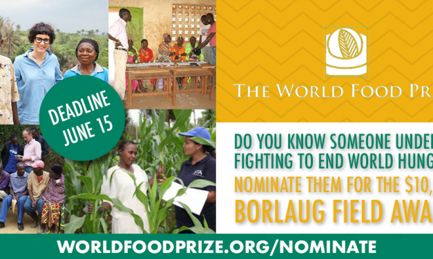 Nominations now open for the Borlaug Field Award
