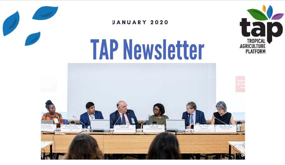 TAP Newsletter January 2020