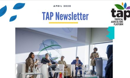 TAP Newsletter April 2020