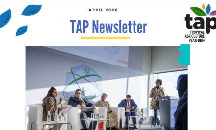 TAP Newsletter April 2020