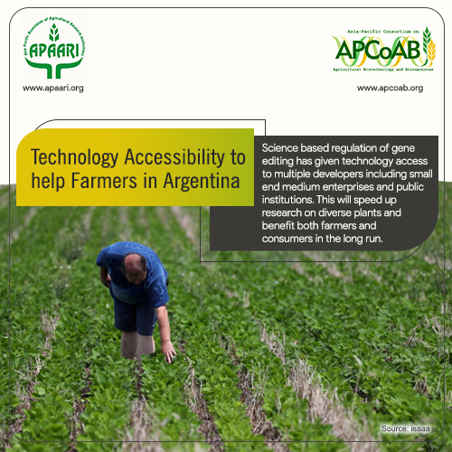 Technology Accessibility to help Farmers in Argentina
