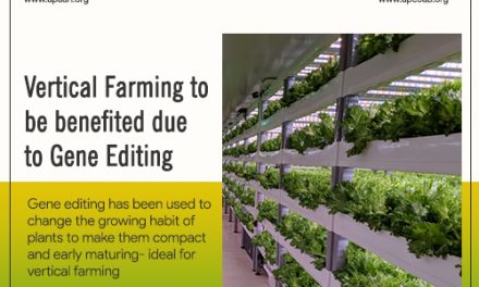 Vertical Farming to be Benefited due to Gene Editing
