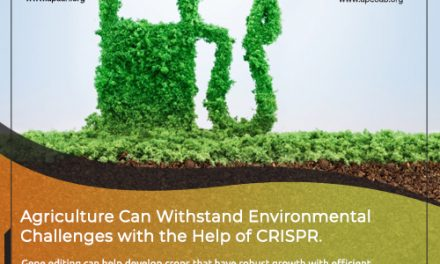 Agriculture can Withstand Environment Challenges with the Help of CRISPR