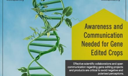 Awareness and Communication Needed for Gene-Edited Crops