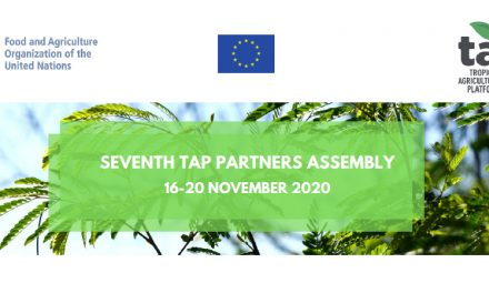 APAARI chairs the TAP Partners' Assembly and participates in panel discussions