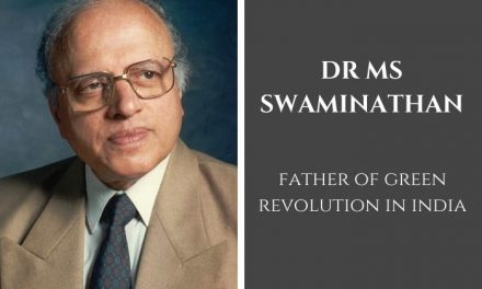 Nominations for the 12th Dr. M.S. Swaminathan Award for Leadership in Agriculture, DEADLINE: 31 December 2020