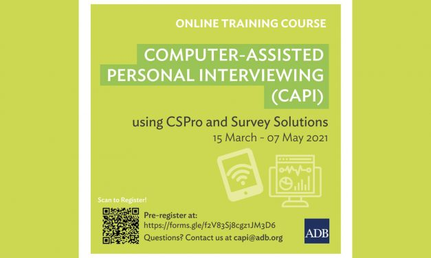 Online Training Course on Computer-Assisted Personal Interviewing (CAPI ) using CSPro and Survey Solutions