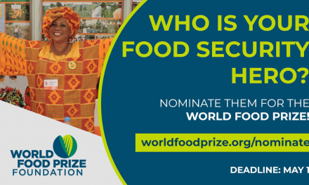 Nominations Webinar – World Food Prize 2022