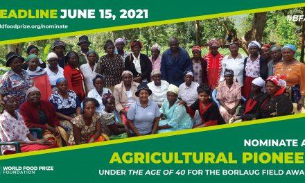 Norman Borlaug Field Award 2021
