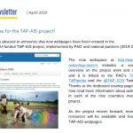 TAP Newsletter April 2021